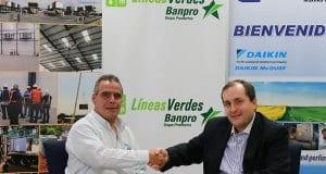 Empresa energética ingresa al programa Líneas Verdes de Banpro.