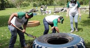 Los costarricenses celebraron el Día Internacional del Voluntariado.