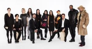 Diseñadores participantes en la Semana de la Moda de Nueva York. Foto cortesía Epson.