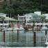 La marina cuenta con villas totalmente equipadas.
