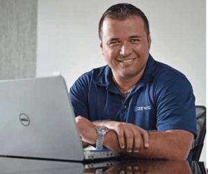 Fabián Vargas, gerente general de ZEWS.